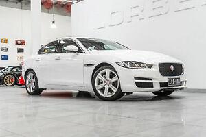 2015 Jaguar XE Prestige Polaris White 8 Speed Automatic Sedan