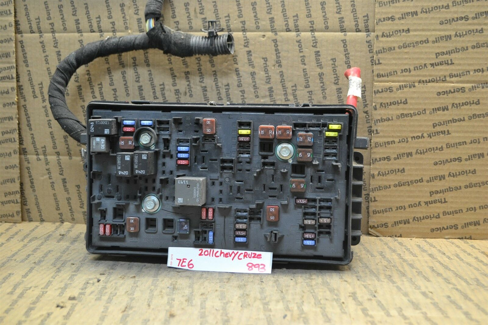 Used Chevrolet Cruze Computers Chips Cruise Control And Related 2011 Chevy Fuse Box 2012 Junction Oem 96982033 Module 893 7e6