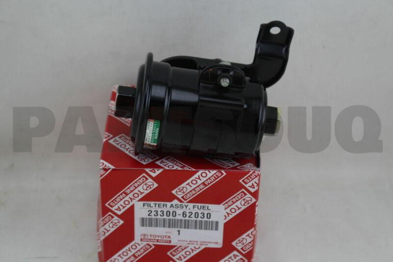 2330062030 Genuine Toyota Filter, Fuel(for Efi) 23300-62030
