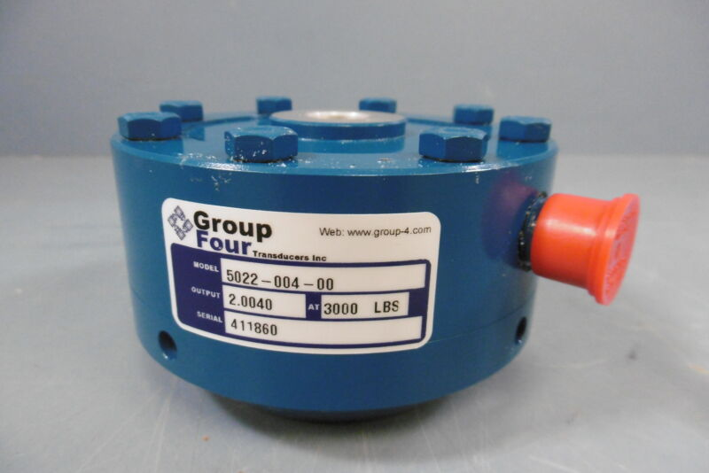 New Group Four 5022-004 Ultra Precision Load Cell 3000lbs