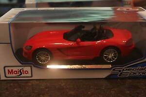 DIECAST CAR - DODGE VIPER - RED Thornleigh Hornsby Area Preview