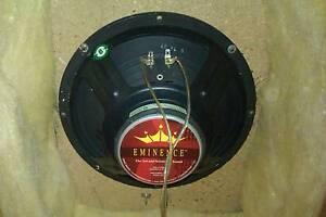 Eminence guitar speaker in cabinet. 10 inch 8 ohm 30 watt Telarah Maitland Area Preview
