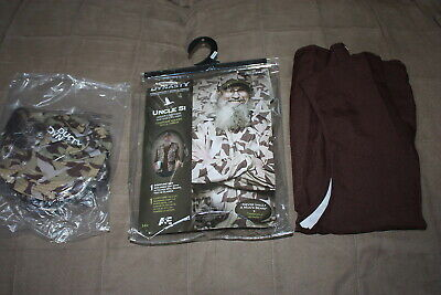 Duck Dynasty Halloween Costumes Uncle Si (Duck Dynasty Adult Costume Uncle Si  One Size)