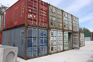 AS IS 20' Shipping Container CHEAP AS CHIPS! Gateshead Lake Macquarie Area Preview