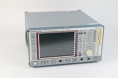 Rohde Schwarz Fsea 20 1065.6000.20 9 Khz - 3.5 Ghz Spectrum Analyzer