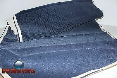 BMW E36 SALOON REAR SEAT BACK CLOTH COVER ULTRAMATIN 0467 NLA 52208156443 for sale  Peterborough