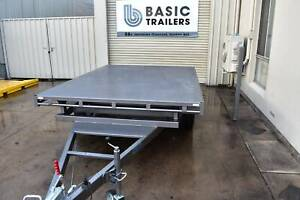 8x7 Flat Top Trailer (Australian Made) Holden Hill Tea Tree Gully Area Preview