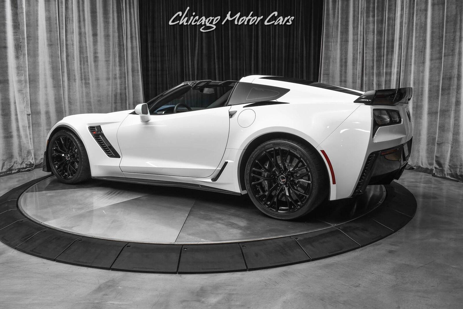 2015 White Chevrolet Corvette Z06 3LZ | C7 Corvette Photo 3