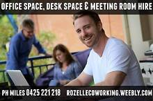 OFFICE SPACE, DESK SPACE & MEETING ROOM HIRE in Rozelle Rozelle Leichhardt Area Preview