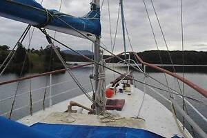 1962 Carvel Ketch motor sailer 42 foot, perkins motor Narooma Eurobodalla Area Preview