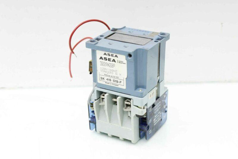 Asea SK 415 019-F Auxillary Interlock w/ Contactor