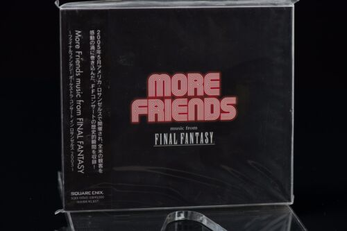 Final Fantasy More Friends Music from Final Fantasy Soundtrack SQEX-10065 NEW