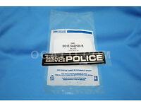 EDGE BRAND NEW  POLICE INTERCEPTOR EMBLEM FOR TAILGATE 2010 #EG1Z-5442528-B
