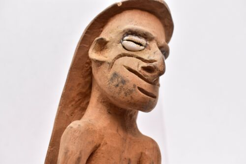 Vintage Sepik River Art Oceanic Tribal Carving Papua New Guinea Ancestor Figure