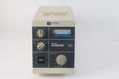 Branson Digital Sonifier 450 Ultrasonic Cell Disruptor - As Is
