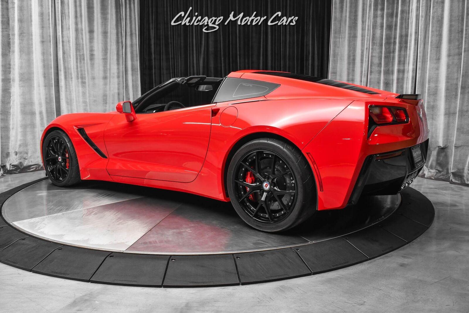 2014 Red Chevrolet Corvette Stingray 2LT | C7 Corvette Photo 3