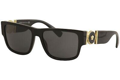 Versace Man Sunglasses, Black Lenses Acetate Frame, (Mens Versace Sunglasses)