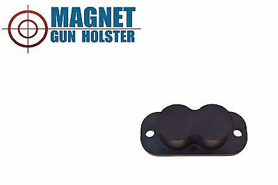 Magnet Concealed Gun Holder for desk bed or under table 25lb Rating!!!