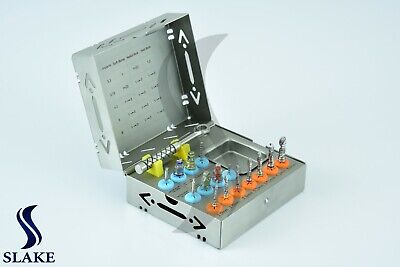 Dental Implant Surgical Drill Kit Drills Drivers Ratchet Dental Instruments Ce
