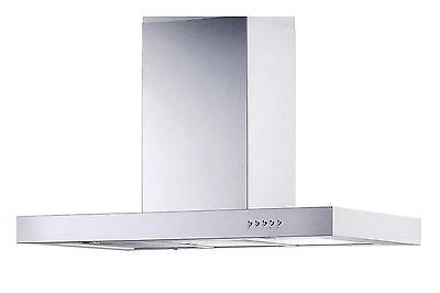 "Stainless Steel 30"" Island Range Hood 3 Speeds Kitchen Fan Ventilation System"