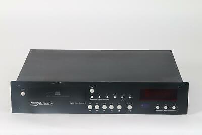 Cd-player & -recorder Player Audio Alchemy Digital Drive System Iii Cd