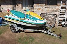 Yamaha WVT700 3 seat jetski with fishing rack and sounder Mango Hill Pine Rivers Area Preview