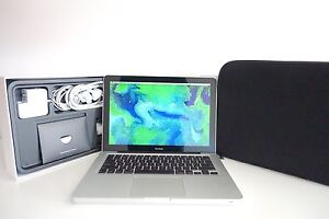 "MacBook Pro 13"" 2008 + 160GB box + case + AS NEW + POST! Melbourne CBD Melbourne City Preview"