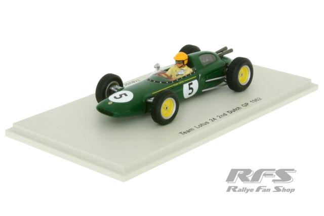 Lotus 24 - Formel 1 Dutch GP 1962 - Trevor Taylor - Team Climax  1:43 Spark 4272