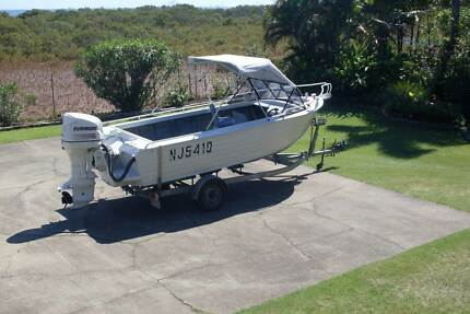 Fisher 530 aluminium runabout Wellington Point Redland Area Preview