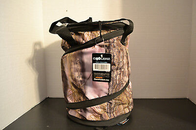 Coolerz Pop Up Soft SIDED Cooler Holds 12 Pk Cans LONGLEAF CAMO PINK COOLERS NEW
