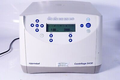 Tested Eppendorf Bench-top Centrifuge 5430 Rotor A-2-mtp