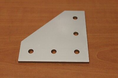 8020 T Slot Aluminum 5 Hole Joining Plate 15 Series 4351 Drag Lines E5-06