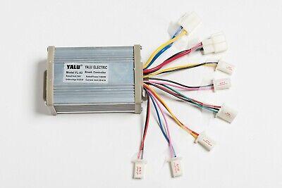 1000w Watt 24v Volt Dc Yalu Yl03 Speed Controller Box For Brush Electric Motor