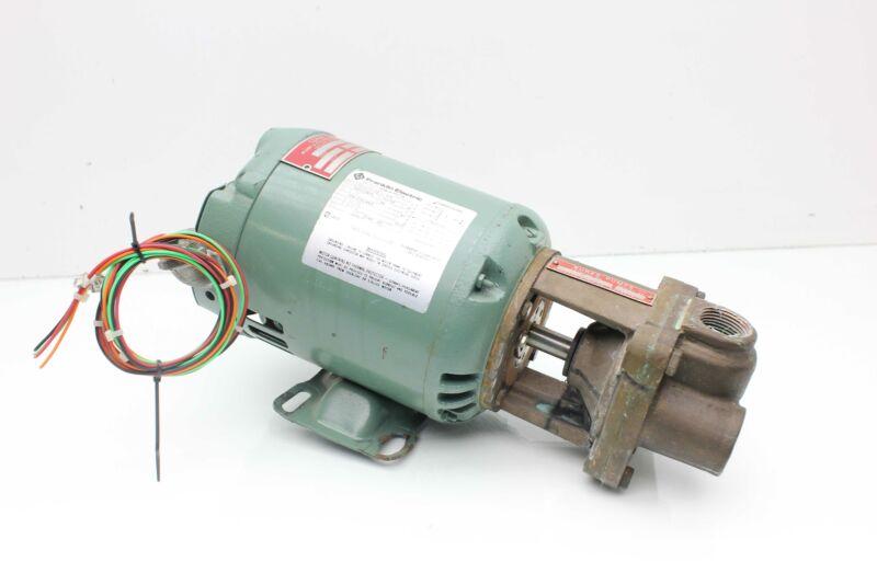 Coker Burks 33CT6M-AB Close Coupled Turbine Pump 1/3 HP Franklin Motor