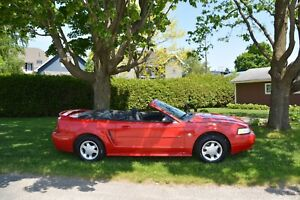 Ford Mustang 99 convertible 225 000km