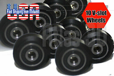 5x Bore Eccentric Spacers ForV Wheel Aluminium Extrusion 3D Printer 5*8.5*H10 RS