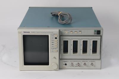 As Is Tektronix 11801c Digital Sampling Oscilloscope Tdr Waveform 8 Channel