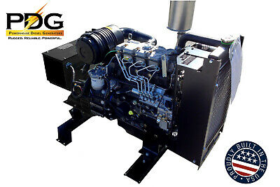 21 Kw Perkins Diesel Generator 1 Or 3 Phase Dse3110 2 Wire Auto Start Included