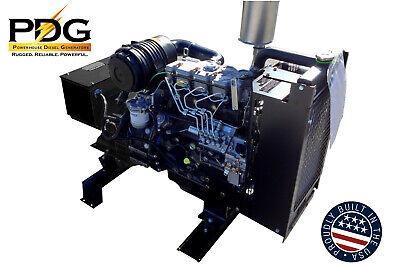 21 Kw Diesel Generator Perkins Emergency Standby Genset Limited Low Price Offer