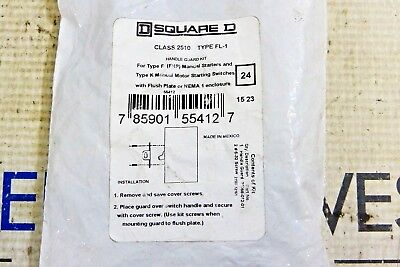 Square D 2510 Fl-1 Handle Guard Kit New In Bag