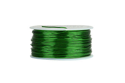 Temco Magnet Wire 18 Awg Gauge Enameled Copper 155c 1lb 199ft Coil Green