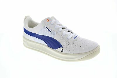 Puma California Ader Error Mens Beige Suede Low Top Lace Up Sneakers Shoes ()
