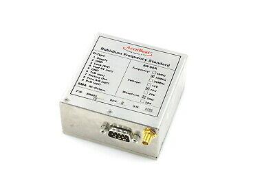 Accubeat Rubidium Frequency Standard Ar-60a 10mhz 15v Sine 3