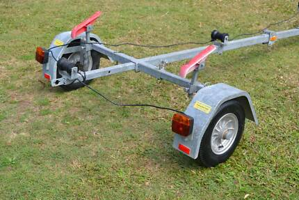 Folding boat Trailer Flip N Easy brand Barely used Maroochydore Maroochydore Area Preview