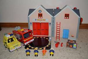 Fireman Sam playset Woonona Wollongong Area Preview