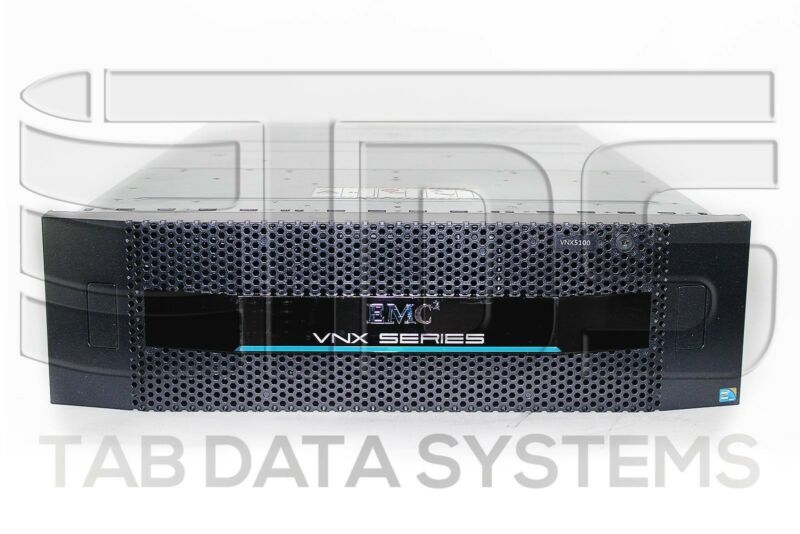 "Emc Vnx5100 Block Storage System W/ 15x 005049273 300gb 15k Rpm 3.5"" Sas Hdd"