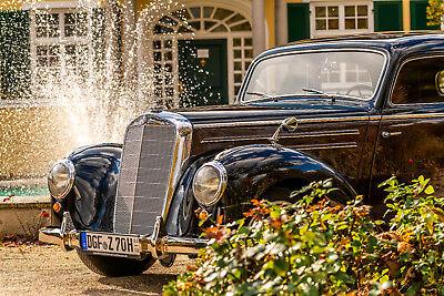 Mercedes 220 W187 Frame-Off Bildschöner Oldtimer mit TÜV und H-Zulassung Benz DB online kaufen