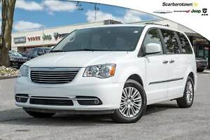 2016 Chrysler Town & Country Touring-L+LTHR+NAV+DVD+ROOF+POWER-D