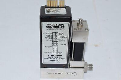 Unit Ufc-1000 Mfc Mass Flow Controller Cc1 Gas 500 Sccm