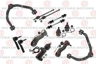 For Gmc Savana 3500 03-14 Control Arms Ball Joints Pitman Arm Tie Rods Idler Arm